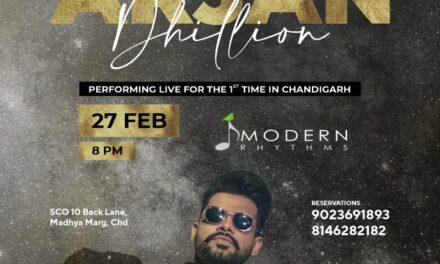 Finch Chandigarh – फिंच में पंजाबी सिंगर – अर्जन ढिल्लों का लाइव शो