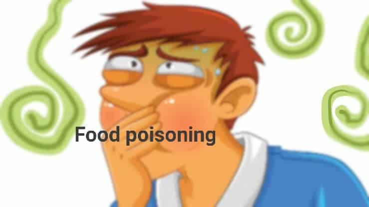 फ़ूड पॉइजनिंग – food poisoning