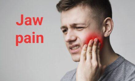 जबड़े में दर्द – jaw pain