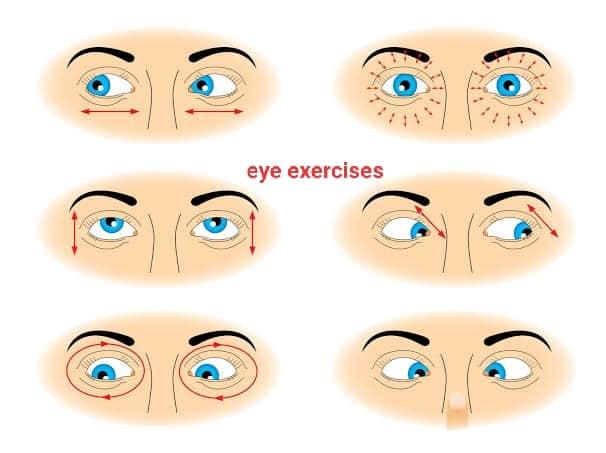 आंखों की एक्सरसाइज – eye exercises