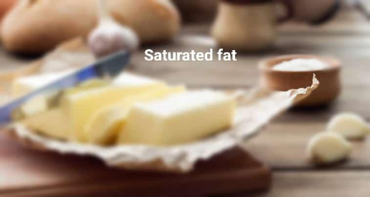 सैचुरेटेड फ़ैट – saturated fat