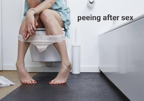 सेक्स के बाद पेशाब करना – Peeing after Sex