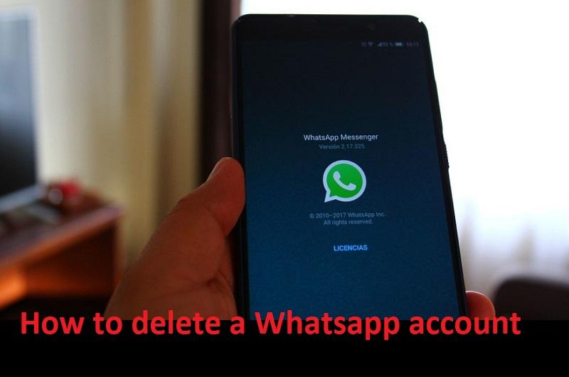 वाट्सएप अकाउंट को डिलीट कैसे करें – How to delete a Whatsapp account
